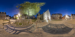 Le Pouliguen — Place Monseigneur Freppel — Chapelle Sainte-Anne de Penchâteau II