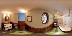 Cap Ferret — Côté Sable — salle de bains chambre 8