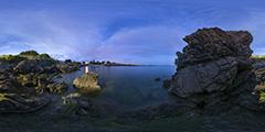 Batz-sur-Mer — côté sauvage, en contrebas du Derwin