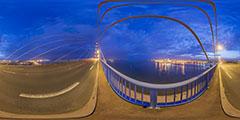 Sur le pont de Saint-Nazaire