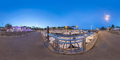 Cap Ferret —port de la Vigne face au White Garden