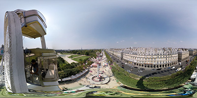 Paris — la grande roue des Tuileries