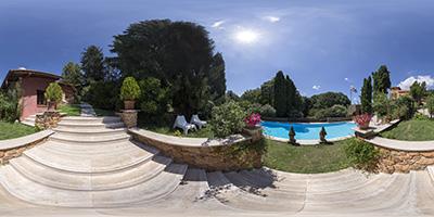 Villa Toscane — piscine