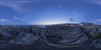 Batz-sur-Mer — Saint-Michel — heure bleue 1