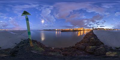 Port La Baule - Le Pouliguen - heure bleue