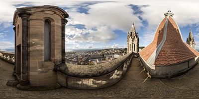 Cathédrale de Lausanne —tour du Beffroi