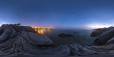 Le Pouliguen — côte Sauvage près de Pierre Plate