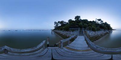Cap Ferret – La Vigne — Escalier Nuit III
