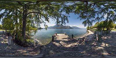 Bellagio — villa Melzi — lac de Côme