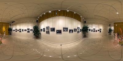 """Louveciennes —Arnaud Slg — exposition """"Le fil rouge"""""""