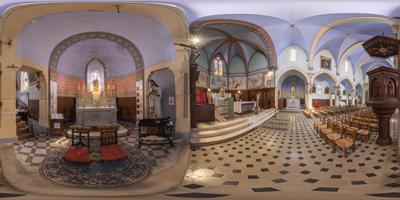 Castillon-du-Gard —église