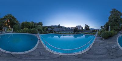 Stresa — Grand Hotel des Iles Borromées —piscine